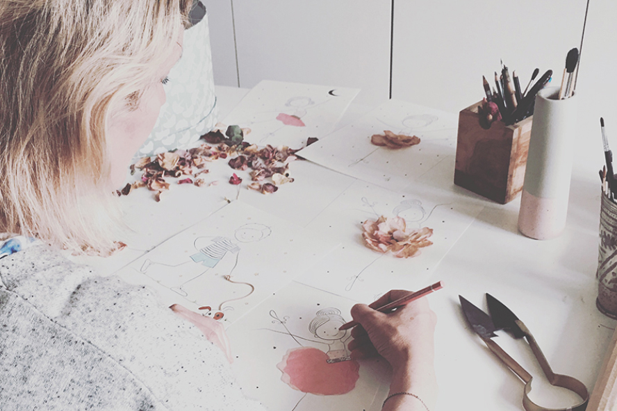 Mette Handberg - by mettehdesign - freelancedesigner indenfor tekstil og grafiske opgaver